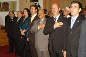 Os vereadores integrantes da Coalizão