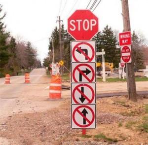 O problema é achar a direção?