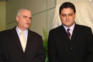 O vice Gustavo e o prefeito Geninho: Acordo eleitoral?