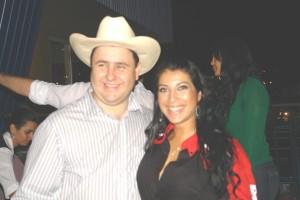 Cleber Cizoto e a ex-BBB Priscila