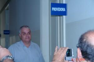 INTERVENTOR CHEGA AO HOSPITAL
