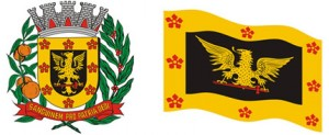 Nosso Brasão, nossa Bandeira, nossas cores oficiais